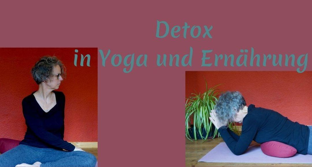 Detox in Ernährung und Yoga